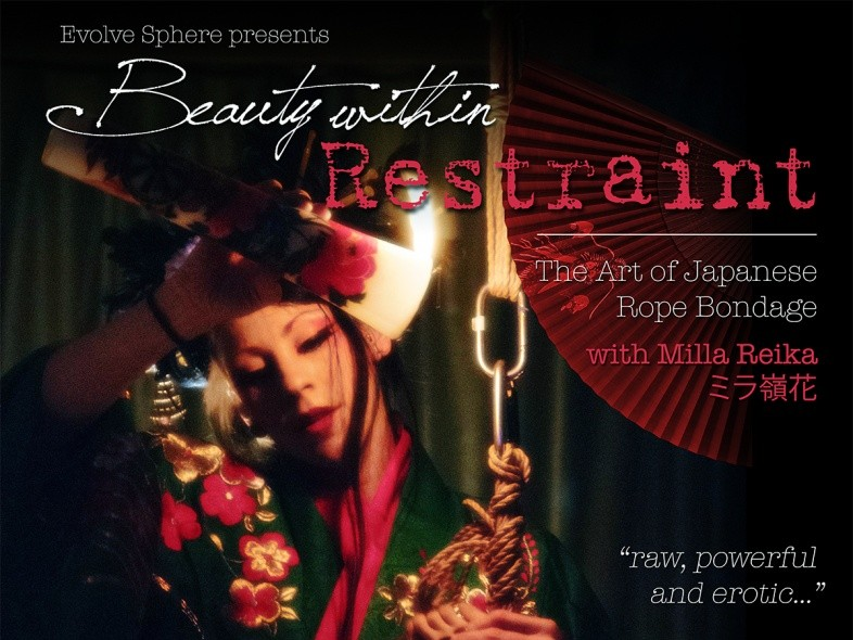 Beauty within Restraint - Shibari Night Event tickets - Evolve Sphere