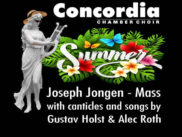 Summer Concert - Jongen Mass Event tickets - Concordia