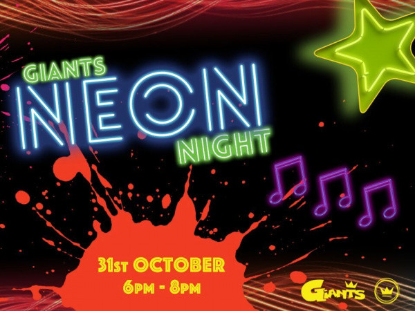Giants Neon Night Event tickets - Kings Church