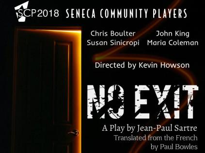 """No Exit"" Event tickets - Seneca Community Players"