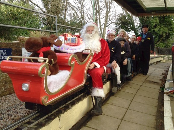 Santa Specials 2018 Event tickets - Crowborough Miniature Railway