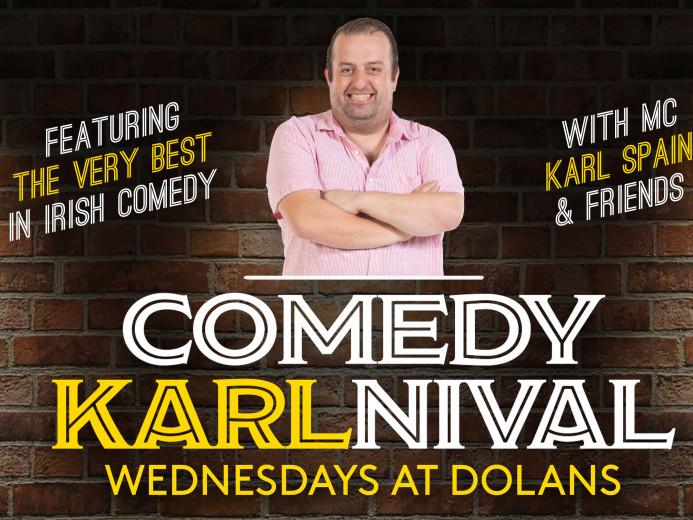 comedy Karlnival May 29th tickets - Dolans pub