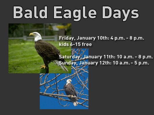 Quad City Bald Eagle Days - 2020 Event tickets - QCCA Expo Center Event Tickets