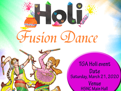 TGA Holi 2020 Tickets