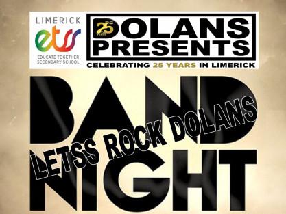 Limerick ETSS-Letss Rock Dolans tickets - Dolans pub