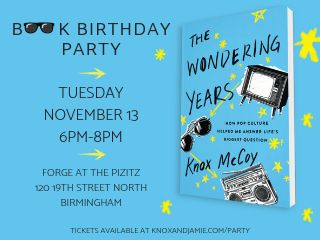 The Wondering Years Book Release Party tickets - ThePopcast