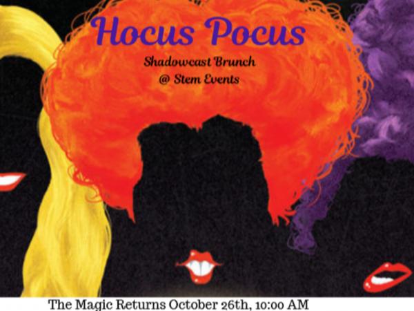 Hocus Pocus Brunch Event tickets - Stem Events