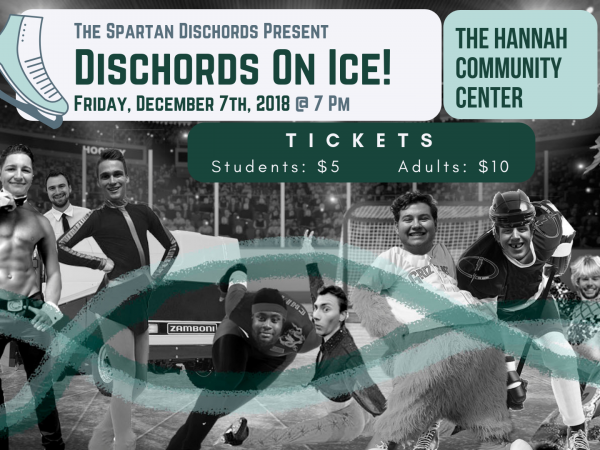 Dischords on Ice! Event tickets - Spartan Dischords