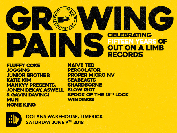Out On A Limb Records 15th Birthday tickets - Dolans pub