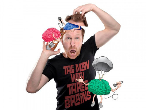 Jason Byrne 'The Man With Three Brains'. Event tickets - Dolans pub