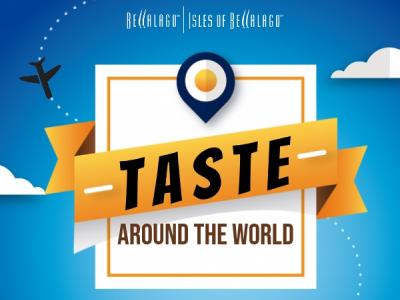 Taste Around the World Event tickets - Bellalago Club