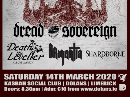 Dread Sovereign Event tickets - Dolans pub