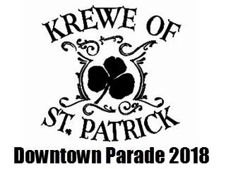 2018 Grand Fiesta Parade tickets - Krewe of St. Patrick, Inc.