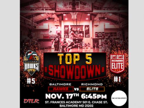 Baltimore Hawks vs Richmond Elite tickets - Baltimore Hawks