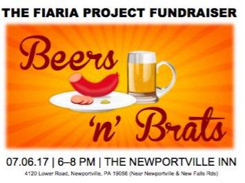 Beers & Brats Fundraiser Event tickets - The Fiaria Project