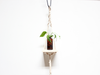 DIY Macrame Hanging Shelf at Carve! Event tickets - LODA Designs