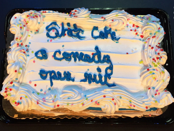 Shit Cake (Open Mic) tickets - Good Good Comedy Theatre