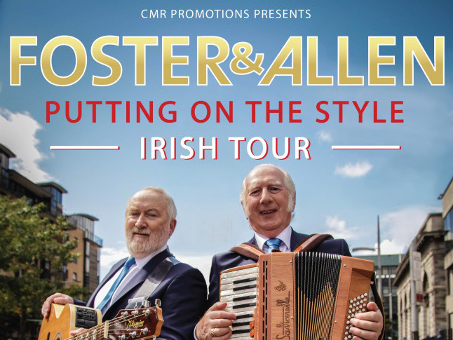 FOSTER & ALLEN tickets - Armagh City Hotel