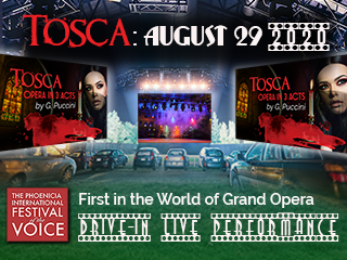 TOSCA  .  Opera in 3 Acts  .  Puccini