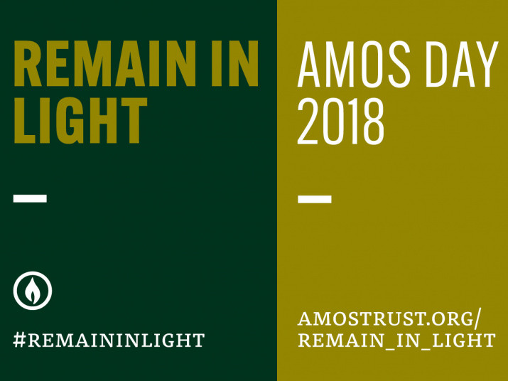 Amos Day 2018: Remain In Light  Event tickets - Amos Trust