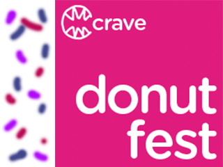 CRAVE Donut Fest Event tickets - Smiley Pete