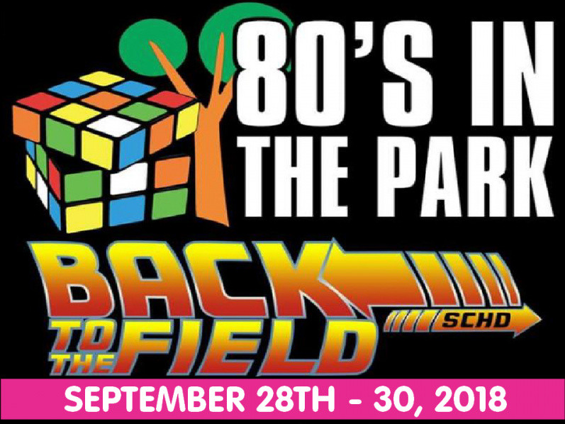 2018 80s rocking WEEKEND tickets - 80sinthepark