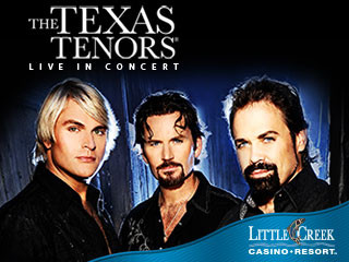 The Texas Tenors Event tickets - Little Creek Casino