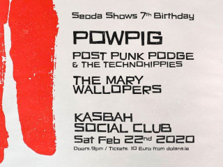 Seoda Shows 7th Birthday Event tickets - Dolans pub