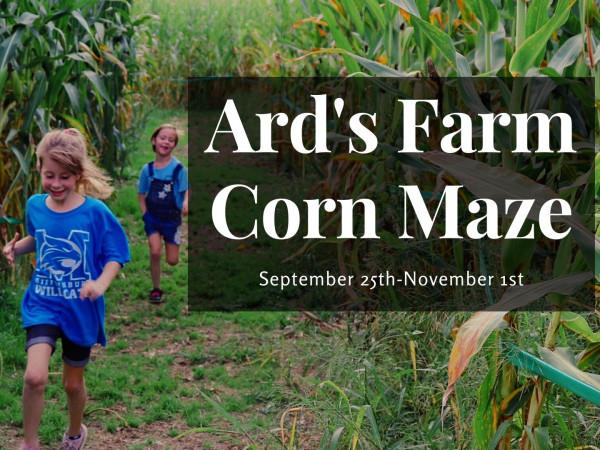 Ard's Farm Corn Maze 2020