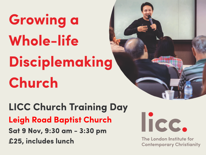 Growing a Wholelife DisciplemakingChurch Event tickets - Leigh Road Baptist