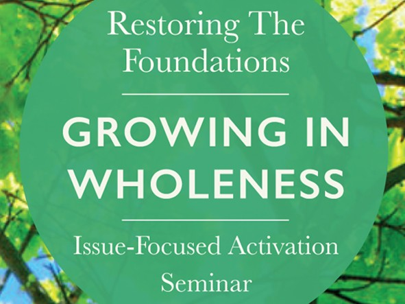 1B Growing In Wholeness (20 - 21 Apr) OL Event tickets - Restoring The Foundations Asia Pacific
