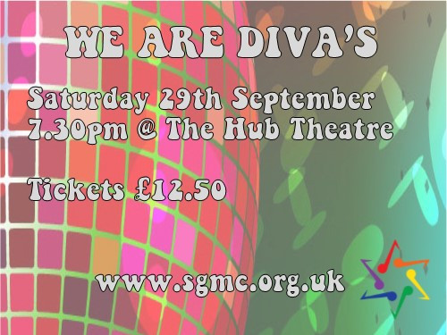 WE ARE DIVA'S Event tickets - Solent Gay Men's Chorus