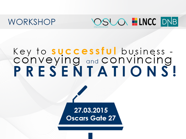 Presentation-key to successful business Event tickets - Oslo International Hub