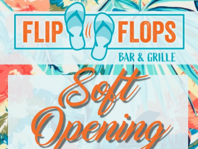Flips Flops Soft Opening Option 1 Event tickets - Bellalago Club