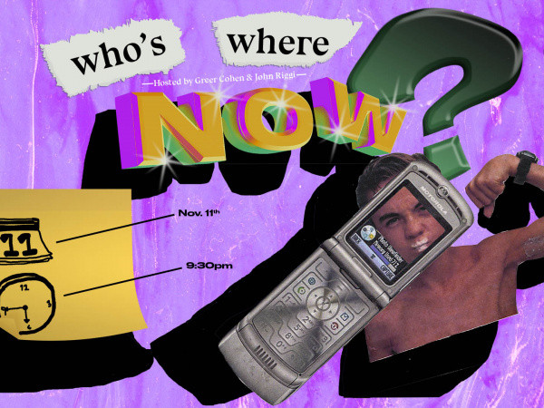 Who's Where Now? Event tickets - Good Good Comedy Theatre
