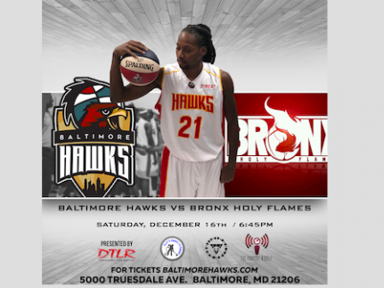 Baltimore Hawks vs Bronx Holy Flames Event tickets - Baltimore Hawks