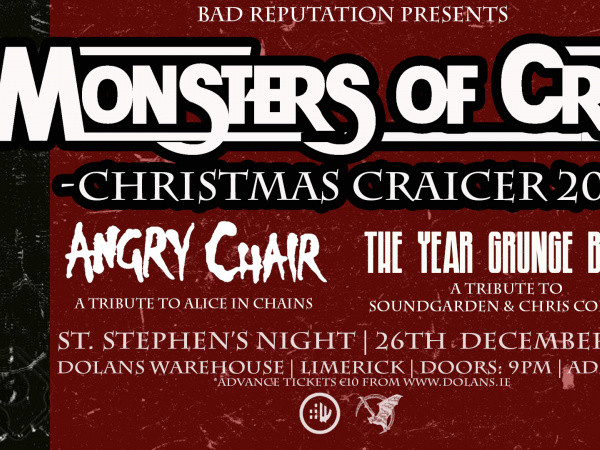 Monsters of Craic – Christmas Craicer Event tickets - Dolans pub