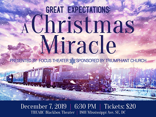 Great Expectations: A Christmas Miracle Event tickets - Focus Theatre Productions
