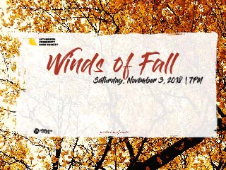 Winds of Fall tickets - Lethbridge Community Band Society