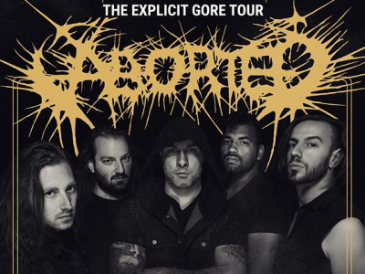 ABORTED with PSYCROPTIC + GUTTED ALIVE Event tickets - Flour City Station