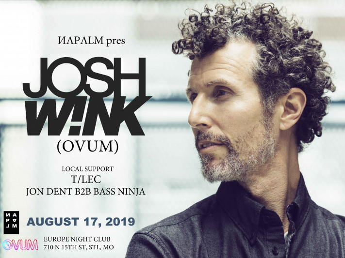 ИΛPΛLM pres Josh Wink  Event tickets - Napalm