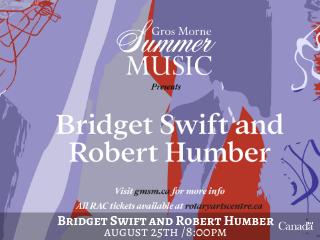 Bridget Swift with Robert Humber