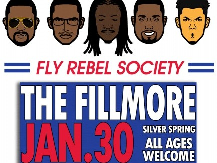 Fly Rebel Society Live at The Fillmore Event tickets - Fly Rebel Society