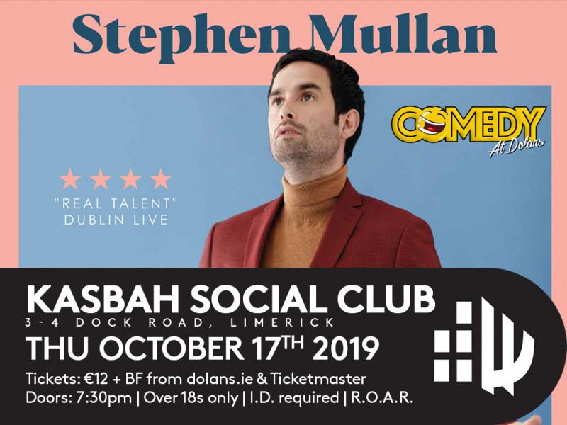 Stephen Mullan Event tickets - Dolans pub