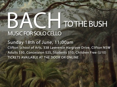 Bach to the Bush - Clifton Event tickets - Anthony Albrecht