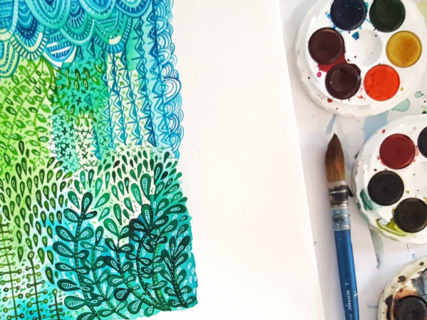 WATERCOLOUR 101 Event tickets - rarepearstudio