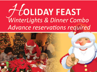 Holiday Feast 2019 Event tickets - Elizabethan Gardens