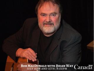 Bob MacDonald with Brian Way