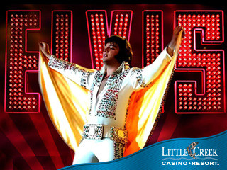 Justin Shandor as Elvis! Event tickets - Little Creek Casino