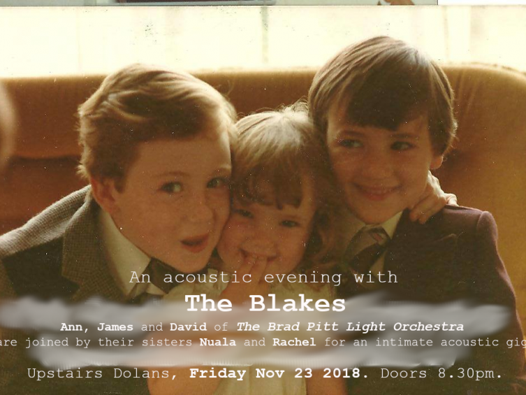 An acoustic evening with The Blakes Event tickets - Dolans pub